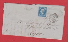 Lettre  //   De Verdun  //  Pour Lyon //  5 Novembre 1862 - 1862 Napoleon III