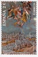 """Entier Postal De 2014 Sur CP Avec Timbre Et Illust.  """"IV Centenaire De La Mort De El Greco"""" - 1931-...."""