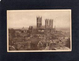 55809     Regno  Unito,  Lincoln  Cathedral,    VG  1949 - Lincoln