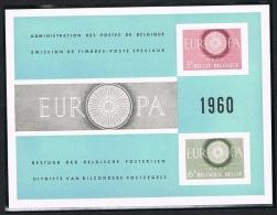 Année 1960 - LX33**  (1150/51)Europa 1960 .     Cote  100,00€ - Feuillets De Luxe