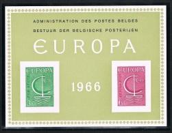 Année 1966 - LX48**  (1389/90)  Europa 1966  .  Cote  100,00€ - Feuillets De Luxe