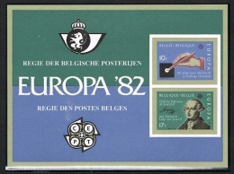Année 1982 - LX71**  (COB 2048/49)  Europa 1982   Cote  100,00€ - Luxusblätter