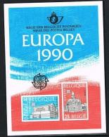 Année 1990 - LX79**  (COB 2367/68)  Europa 1990   Cote  125,00€ - Deluxe Panes