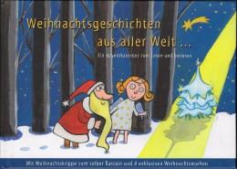 Kerstmis-Weihnachten Boekje Met  8 Exclusieve Zegels En Geschiedenis Gebonden - Autriche