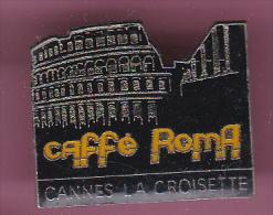 47027.-Pin's.café Roma Cannes La Croisette.. - Städte
