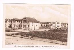ST MAURICE DE BEYNOST-cite Ouvriere De La S.L.S.A - Otros Municipios
