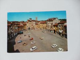 LUCCA - Piazza Dell´ Anfiteatro - Veduta Dal Lato Est - Auto - Lucca