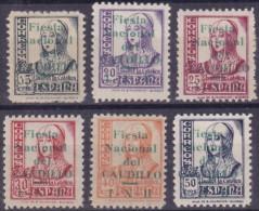 1936 -  España - Guerra Civil -  Pamplona - EDIFIL Nº 25/30 - * MLH - RAROS - Serie Corta - Republikanische Ausgaben