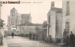 SAINT-ANDRE-TREIZE-VOIES LA RUE PRINCIPALE ANIME 85 VENDEE - France