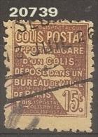 1926 - YT 54 Obl. - VC: 3.00 Eur. - Colis Postaux