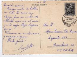 2869   Postal Portugal Caparica- F.N.A 1968 - 1910-... República