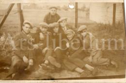 Photo Ancien / Hommes / Mannen / Men / Met Pet / Chapeau / Claque / Klakhoed - Personnes Anonymes