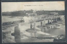 CPA 22 - Le Guildo, Le Pont - Un Train - Frankreich