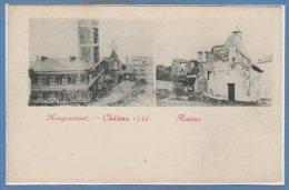 BELGIQUE -- HOUGOUMONT --  Chateau - Ruines - Belgique