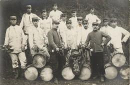 BELLE CARTE PHOTO DU 26 Eme REGIMENT D INFANTERIE - CLASSE 1916 - MUSIQUE MILITAIRE - SOLDATS - War 1914-18