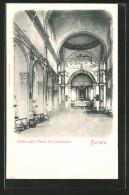 Cartolina Ferrara, Interno Della Chiesa Del Camposanto - Ferrara