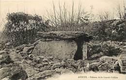 -ref- J 250 - Gard -  Anduze - Dolmen De La Grande Paillere - Dolmens - Carte Bon Etat - - Anduze