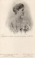 L'Impératrice De RUSSIE Photo Officielle Prise 16/08/1901 Par L:. LEVITSKY Photographe Officiel - Russie