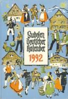 Sudetendeutscher Kalender 1992 - Calendars