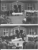 Allemagne Heidenberg Inauguration D'un Batiment Pour La Jeunesse Club Sportif 2 Cartes Photos 1914-1918 14-18 Ww1 Wk1 - War, Military