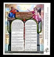 Bicentenaire De La Révolution,, 5 X  BF 11**, Cote 75 €,    Neufs Sans Charnière  Vendu Sous Valeur Affranchissement - Sheetlets
