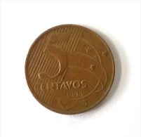 Brésil - 5 Centavos 1998 - TTB - - Brasil