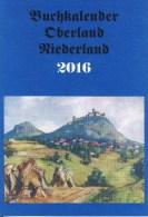Buchkalender Oberland Niederland 2016 - Calendars