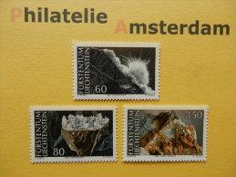 Liechtenstein 1994, MINERALS MINERALIËN: Mi 1093-95, ** - Mineralen