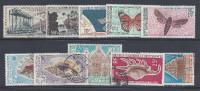 NOUVELLE-CALEDONIE - 1955-75 - POSTE AERIENNE - LOT DE 20 TIMBRES - OBLITERES - B/TB - - Lots & Serien
