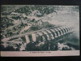 ABBASANTA Oristano - Santa Chiara Del Tirzo La Diga Usata 1934 - Altre Città