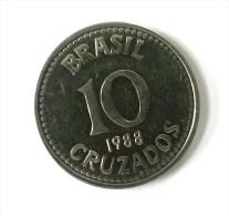 Brésil - 10 Cruzados 1988 - Superbe - - Brazil