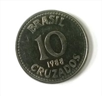 Brésil - 10 Cruzados 1988 - Superbe - - Brasil
