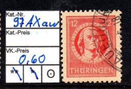 Thüringen MiNr.: 97 AX Aw Gestempelt - Sowjetische Zone (SBZ)