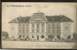 HUNGARY GYULA OLD POSTCARD - Ungarn