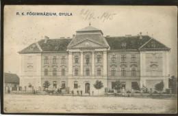 HUNGARY GYULA OLD POSTCARD - Ungheria