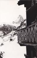 24449   Photo  Grachen Grächen Suisse, Zermat Et Cervin Février 1965 - Montagne  Ski Vacances