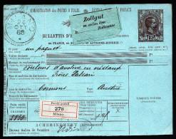 A3332) Italien Italy Paketkarte Von Milano 24.10.1888 Nach Cormons - 1878-00 Humbert I.