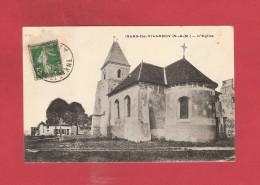 * CPA..dépt 77..ISLES Les  VILLENOY   :  L' Eglise  : Voir Les 2 Scans - Autres Communes
