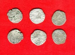 FRANCHE COMTE - FRANCO CONTADO - BOURGOGNE - LOT DE 3 CAROLUS 1622 -1623  BESANCON - 476-1789 Monnaies Seigneuriales