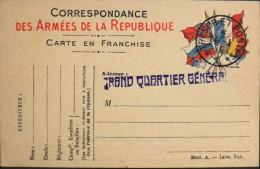 C.P. F.M - Correspondance Des Armées De La République - Cachet Trésor Et Poste Daté : 24.01.1915 - Parfait Etat - - Postmark Collection (Covers)