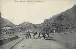Ref  J830- Yemen - Aden - Route Des Citernes  - Carte Bon Etat  - - Yémen