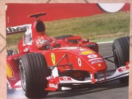 Auto E Moto- Da Calend. M. Marelli - Cm. 39x50-  Ferrari  F2004- Retro- Alfa Romeo ETCC- 156 GTA. - Sport
