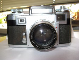 Zeiss Ikon CONTAX IIIa - Zeiss Opton Sonnar 1:1,5/50mm - Cameras
