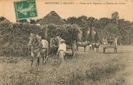 MONTFORT L´AMAURY FERME DE LA VIGNETTE LA RENTREE DES GERBES - Montfort L'Amaury