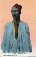 DAKAR SENEGALAIS WOLOF CARTE COLORISEE - Sénégal