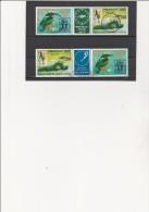 HAUTE- VOLTA - POSTE AERIENNE 2 TRIPTYQUES - 221 A - OBLITERES -PHILEXFRANCE II - 1978 - Upper Volta (1958-1984)