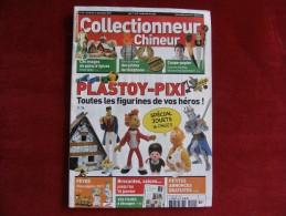 COLLECTIONNEUR & CHINEUR N° 094 - 17 DECEMBRE 2010 - PLASTOY - PIXI, LES FIGURINES - 8 PAGES - Astérix