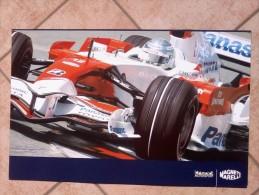 Auto E Moto - Da Calend. M. Marelli -cm. 38x60 - Red Bull F1-R 83- Retro- Toyota F1 - TF 107. - Corse Di Auto