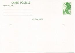 FRANCIA ENTERO POSTALMARIANNE 1.7 F - Enteros Postales