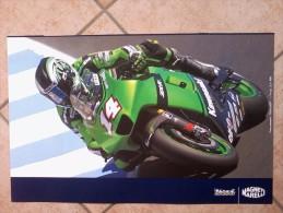 Auto E Moto - Da Calend. M. Marelli -cm. 38x60 - Ducati  M.GP- Desmosedici GP7- Ret- Kawasaki M.GP -Ninja ZX-RR - Corse Di Auto